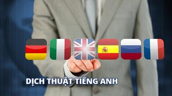 Dịch vụ dịch thuật công chứng tiếng Anh